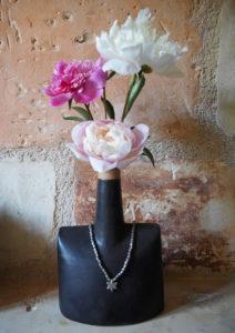 Soliflore porte-collier - atelier modeste
